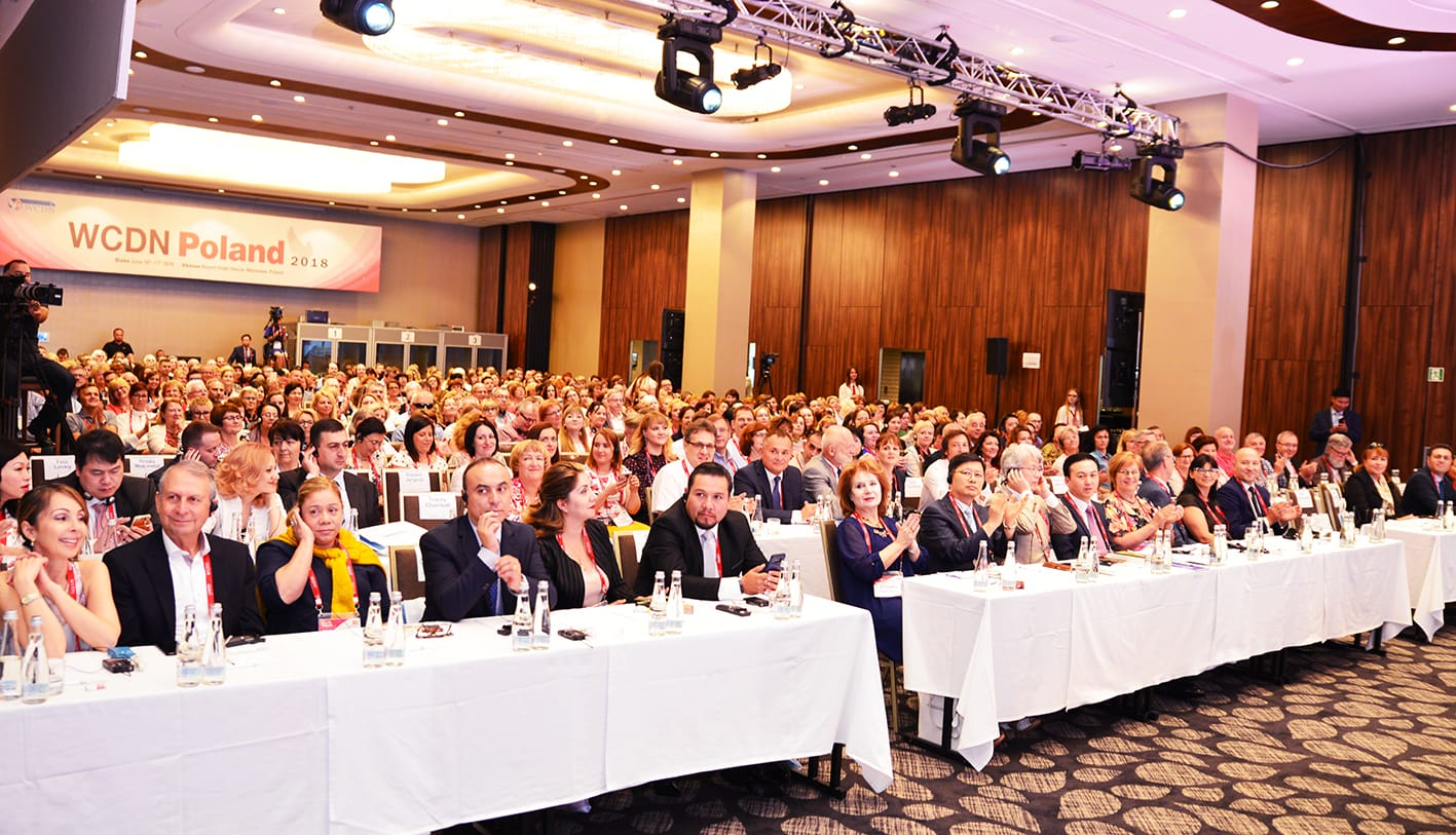 WCDN's 15th International Conference in Poland with 400 People from